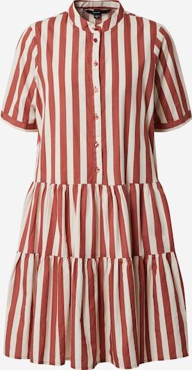 VERO MODA Kleid 'DELTA' in rot / weiß, Produktansicht