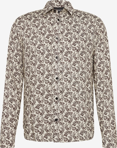 The Kooples Overhemd 'CHEMISE' in de kleur Beige / Bruin, Productweergave