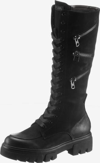 REPLAY Schnürstiefel 'HANNA' in schwarz, Produktansicht