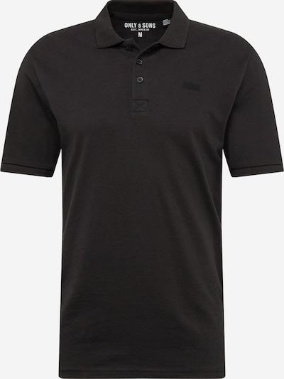 Only & Sons Camiseta en negro, Vista del producto