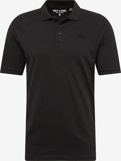Only & Sons Majica | črna barva, Prikaz izdelka