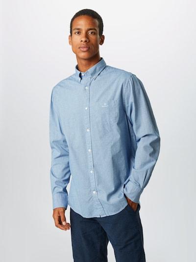GANT Koszula w kolorze podpalany niebieski / białym: Widok z przodu