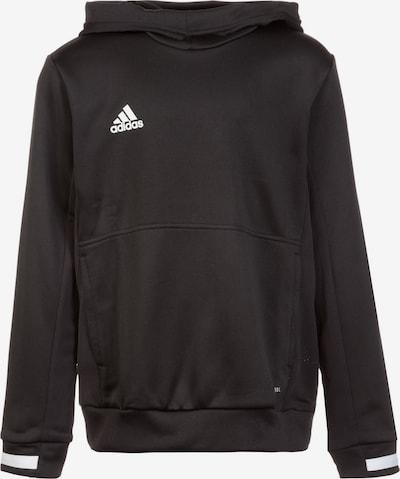 ADIDAS PERFORMANCE Pullover 'Team 19' in schwarz / weiß, Produktansicht