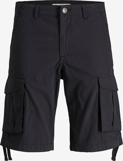 Produkt Baumwoll Cargoshorts in schwarz, Produktansicht