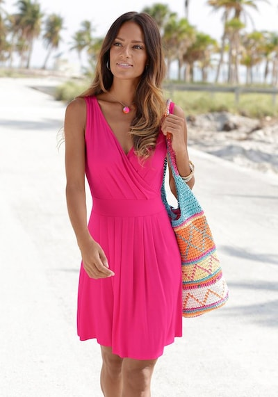 BEACH TIME Strandkleid in pink, Modelansicht