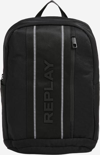 REPLAY Rucksack 'Urban Sport' in grau / schwarz, Produktansicht