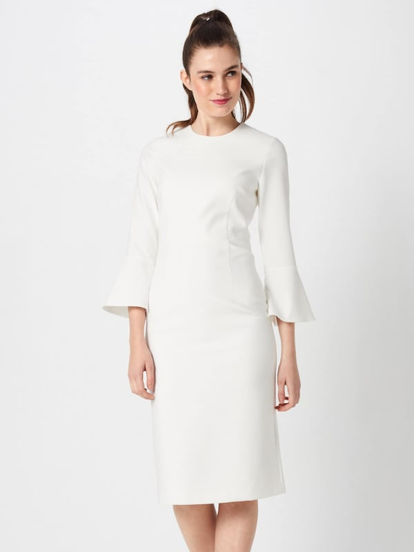 Oak Robe 'trumpet Blanc Dress' Sleeve En Ivyamp; 8nN0vwm