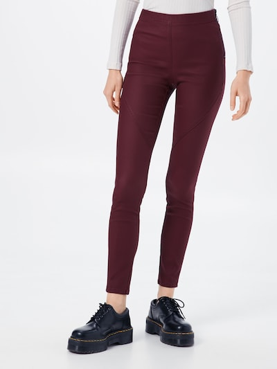 EDC BY ESPRIT Leggings in bordeaux, Modelansicht