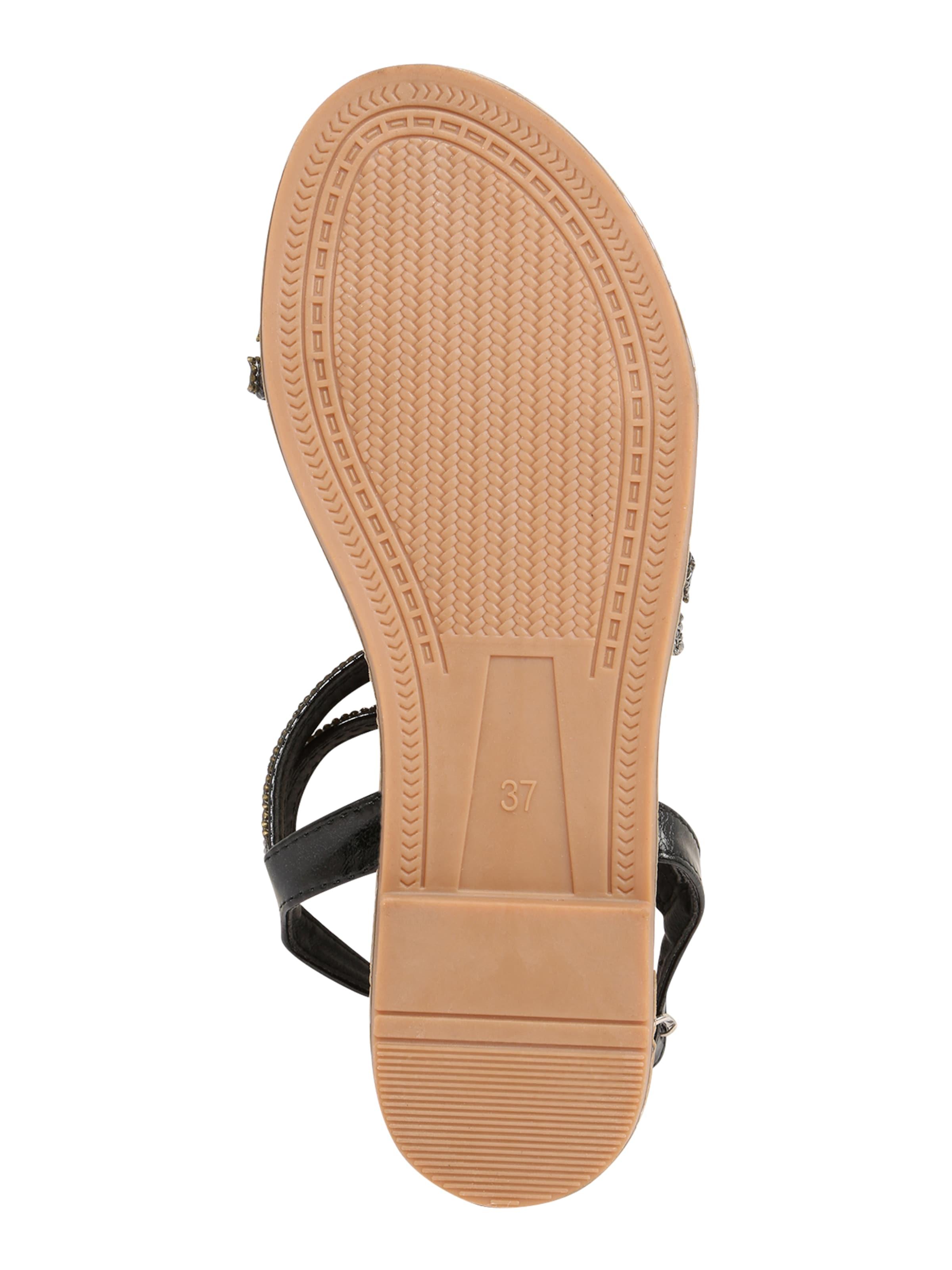 Hailys Sandal 'Sunny' i svart