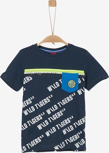 s.Oliver T-Shirt in nachtblau / mischfarben, Produktansicht