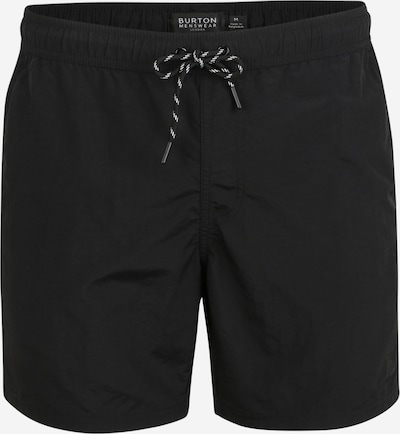 BURTON MENSWEAR LONDON Shorts de bain 'CORE BLACK SWIM' en noir, Vue avec produit