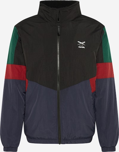 Demisezoninė striukė 'Get Funky Jacket' iš Iriedaily , spalva - tamsiai mėlyna / vyno raudona spalva: Vaizdas iš priekio