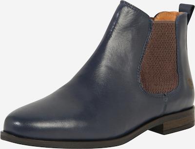 Apple of Eden Chelsea boots 'Manon' i kobaltblå, Produktvy