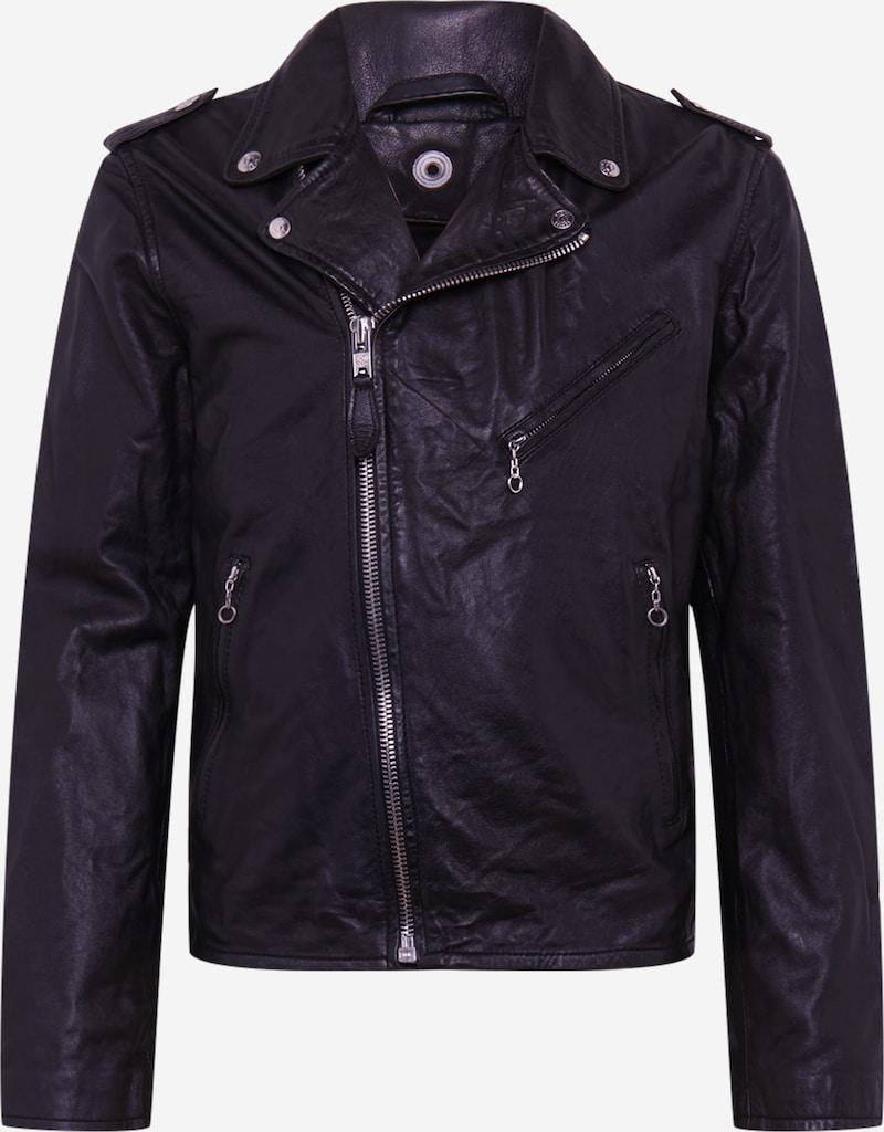 Schott NYC Átmeneti dzseki 'SCHOTT PERFECTO' fekete színben