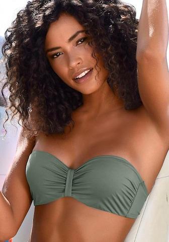 BENCH Bikini-Top 'Perfect' in Grün