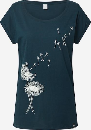 Iriedaily Tričko 'Pusteblume' - marine modrá / bílá, Produkt
