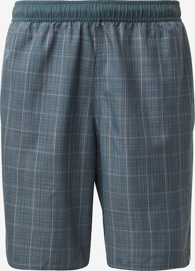 ADIDAS PERFORMANCE Shorts in grau / petrol, Produktansicht