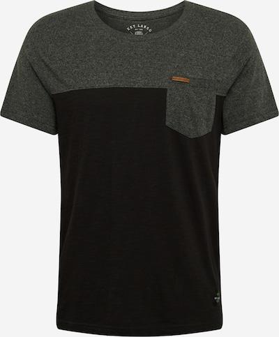 Key Largo Shirt 'TERMINAL' in de kleur Antraciet: Vooraanzicht