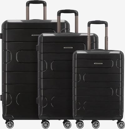 Franky Kofferset in schwarz, Produktansicht