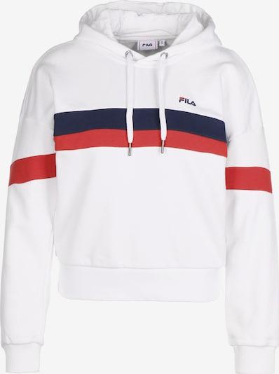 FILA Sportief sweatshirt 'Ella' in de kleur Donkerblauw / Watermeloen rood / Natuurwit, Productweergave