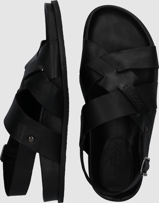 Dockers By Gerli Sandalette With Crossed Straps