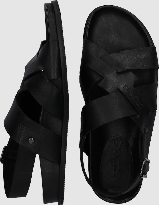 Dockers by Gerli Sandalette mit gekreuzten Riemen