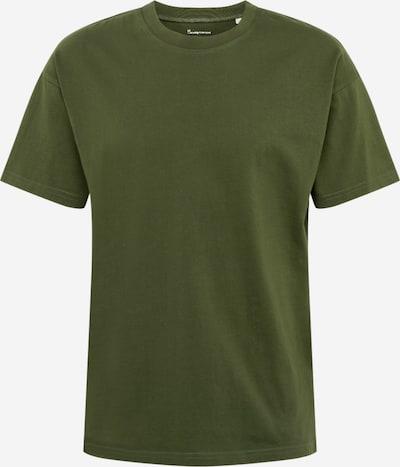 KnowledgeCotton Apparel Shirt in dunkelgrün, Produktansicht