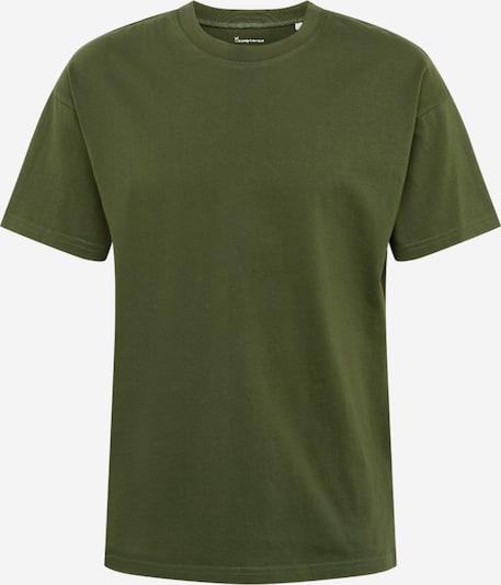 KnowledgeCotton Apparel Shirt in Donkergroen hkYeFQsV
