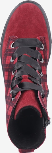 Legero Sneakers hoog in Marine / Rood / Zwart UMBBUX1B