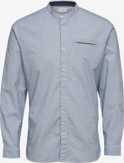SELECTED HOMME Poslovna srajca | nočno modra / bela barva, Prikaz izdelka