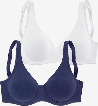 PETITE FLEUR Zmenšujúca podprsenka - modré / biela, Produkt