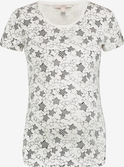 Esprit Maternity T-shirt in schwarz / offwhite, Produktansicht