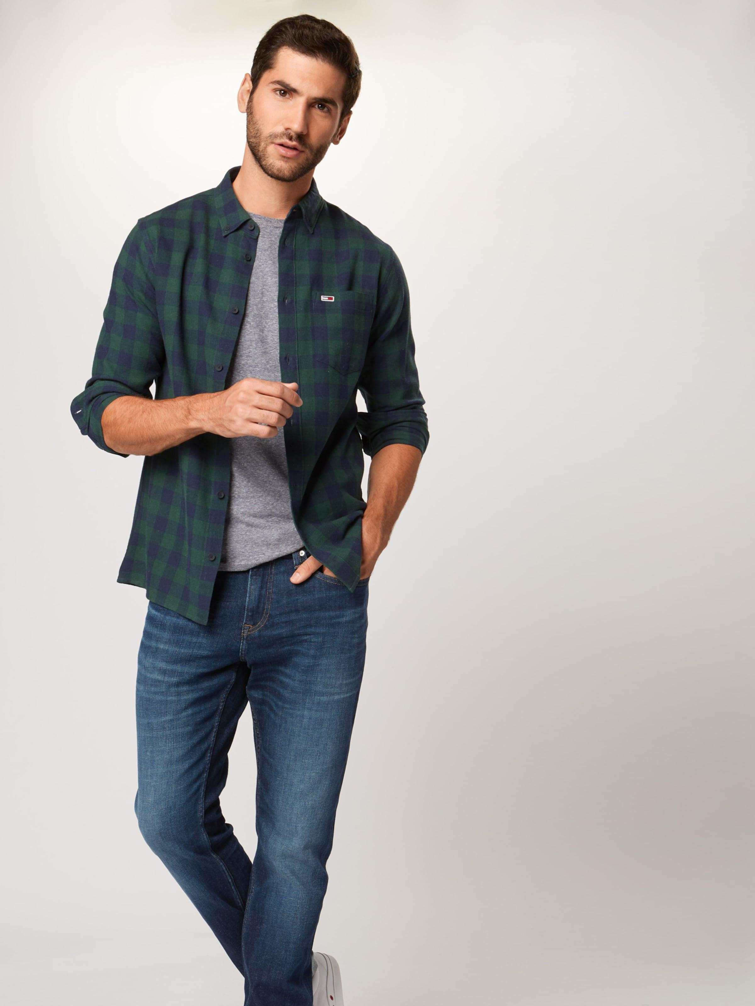 'gingham' Jeans In Tommy Hemd DunkelblauDunkelgrün PkXZuiOT