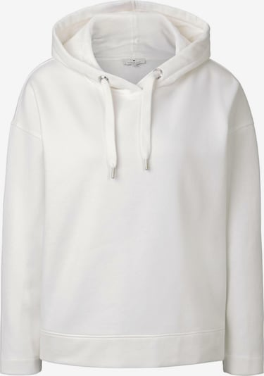 TOM TAILOR Strick & Sweatshirts Oversized Hoodie in weiß, Produktansicht