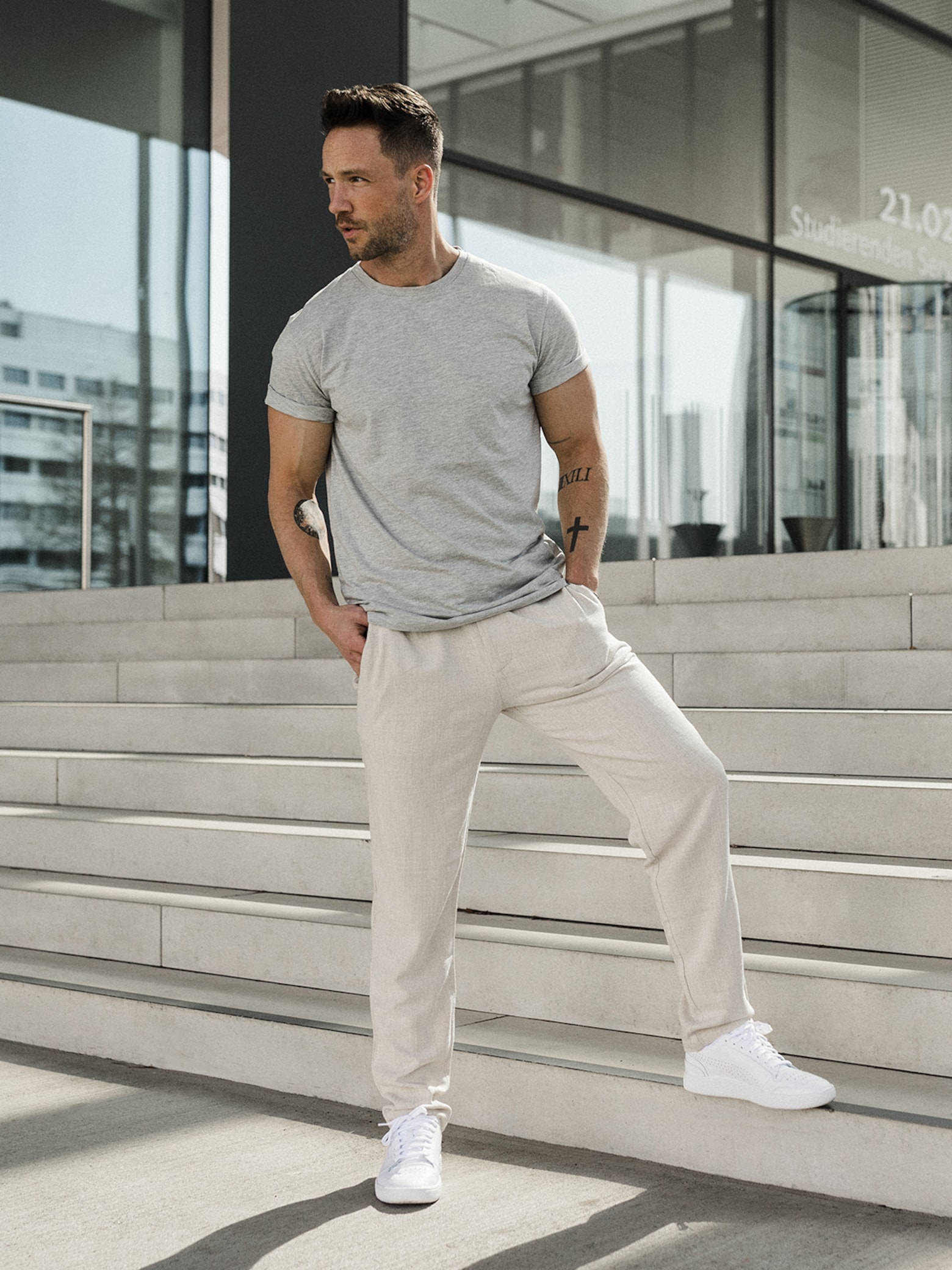 Daniel Fuchs - Sporty Everyday Look