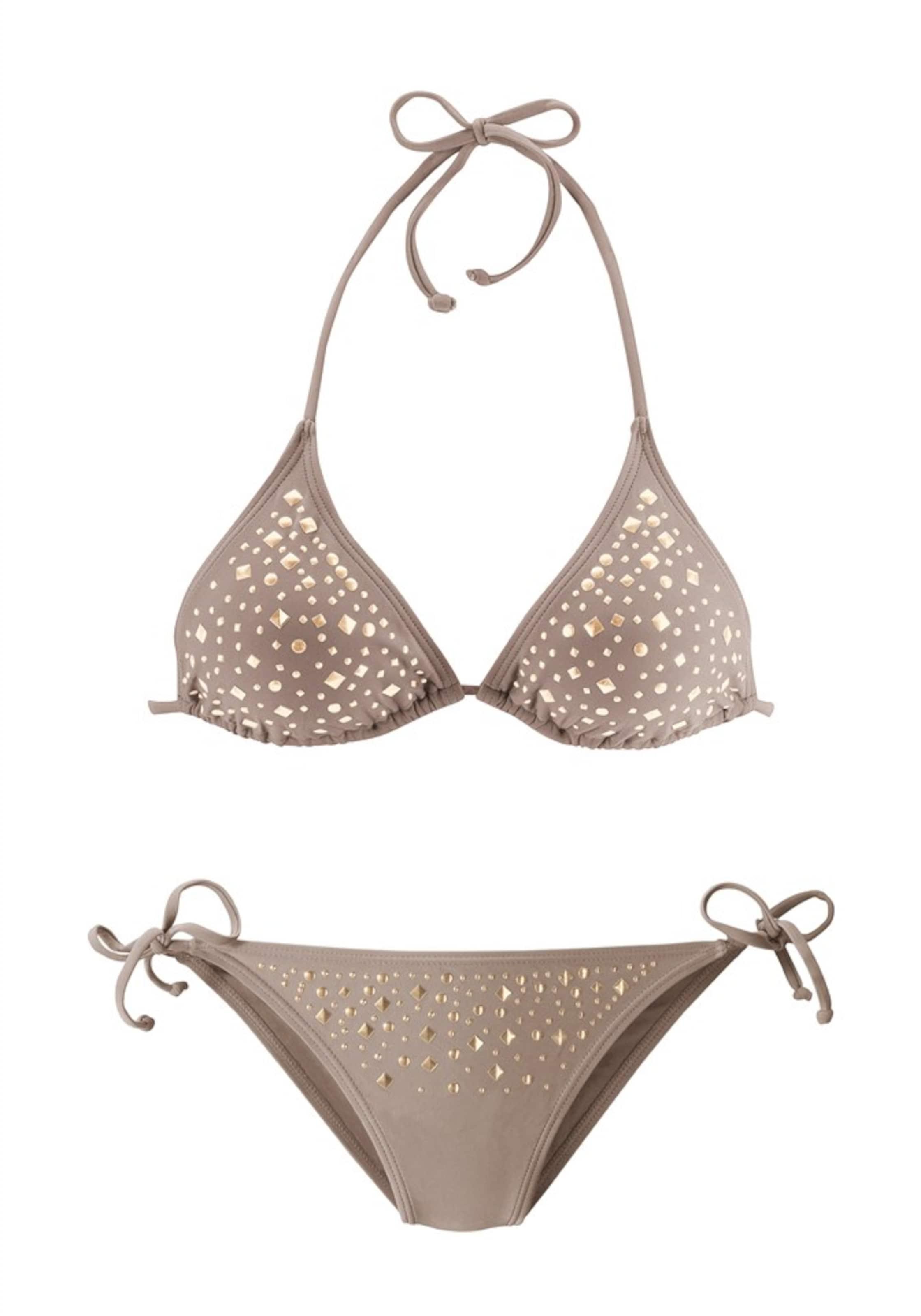 Dunkelbeige Jette Triangel bikini Jette In Yf7yvbI6gm