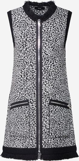 DIESEL Úpletové šaty 'M-MILOS' - černá / bílá, Produkt