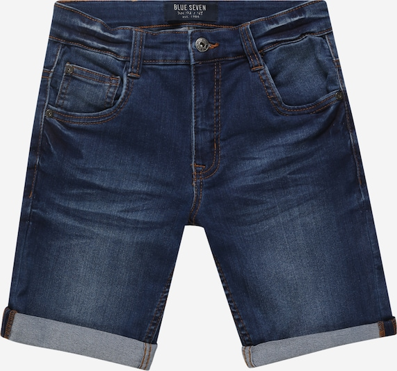 BLUE SEVEN Bermuda in blue denim, Produktansicht