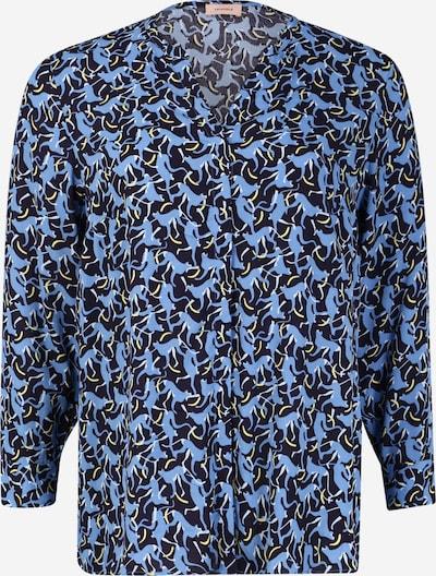 TRIANGLE Bluse in blau / dunkelblau, Produktansicht