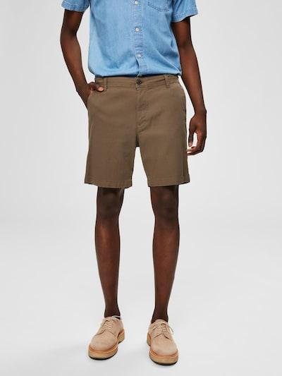 SELECTED HOMME Shorts in grün, Modelansicht