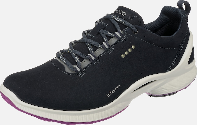 ECCO Sneakers 'Biom Fjuel Yabuck Yak' in navy: Frontalansicht