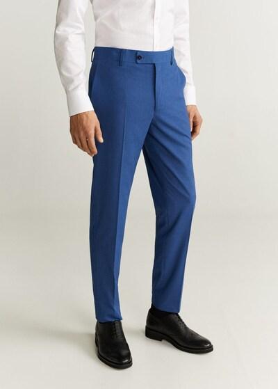 MANGO MAN Hose 'brasilia' in blau, Modelansicht