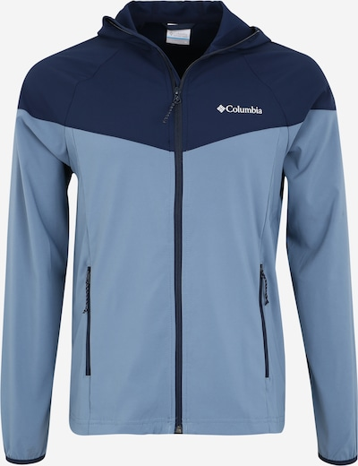 COLUMBIA Sportjacke 'Heather Canyon Jkt' in dunkelblau / grau, Produktansicht