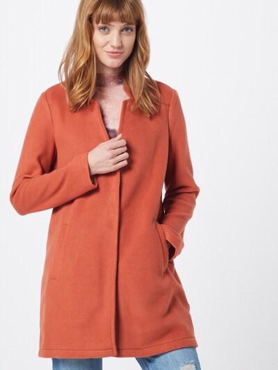 VERO MODA Prehoden plašč 'VMBRUSHEDKATRINE' | oranžno rdeča barva, Prikaz modela