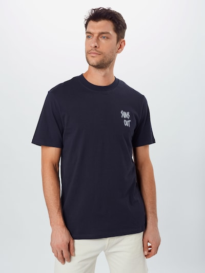 Only & Sons T-Shirt in dunkelblau: Frontalansicht