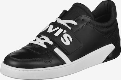 LEVI'S Schuhe ' MULLET V ' in schwarz / weiß, Produktansicht