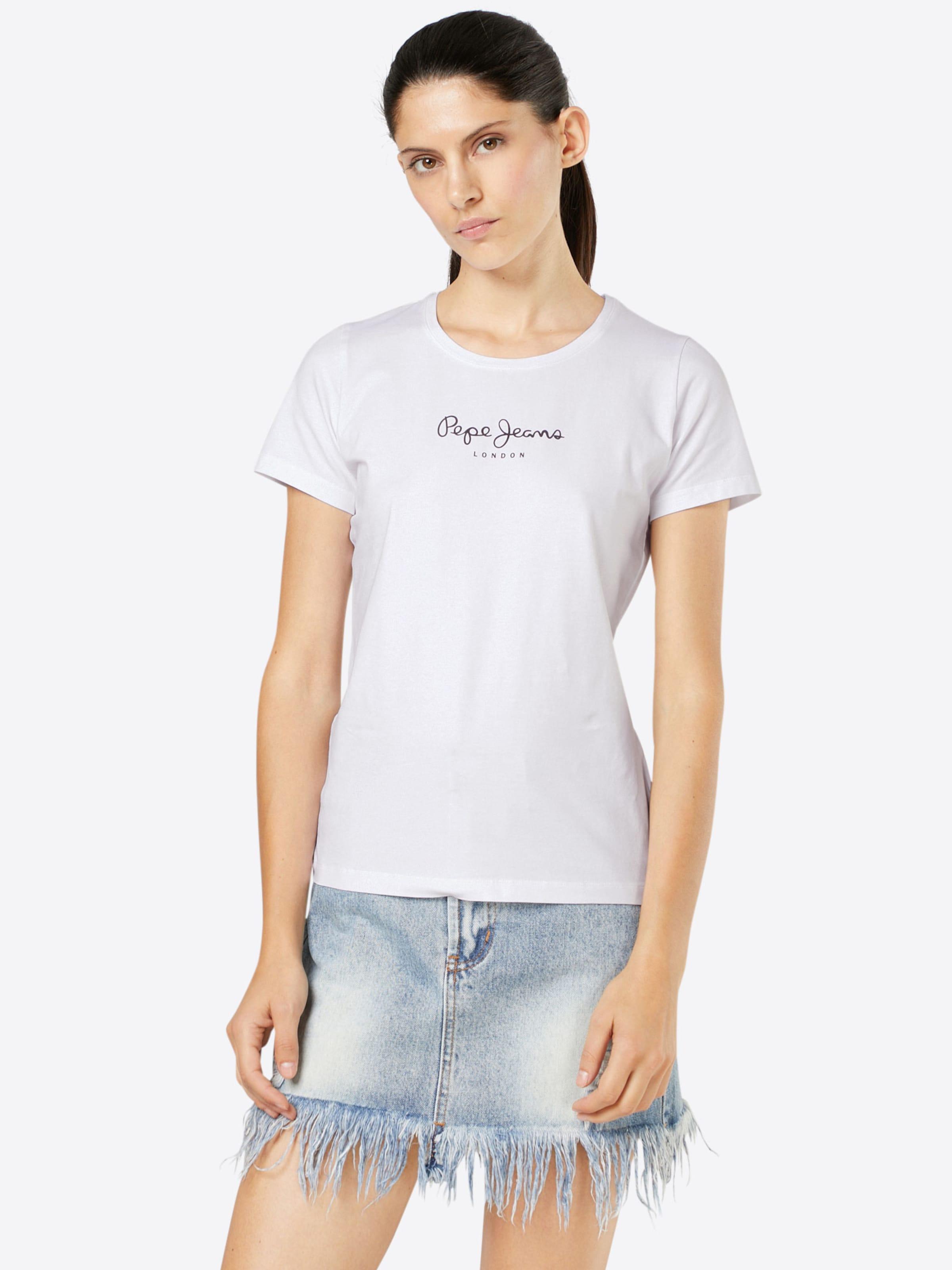 Weiß In 'new Pepe T shirt Virginia' Jeans OXiPuTkZw
