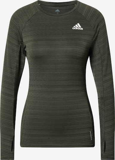 ADIDAS PERFORMANCE Functioneel shirt 'Runner' in de kleur Grijs, Productweergave
