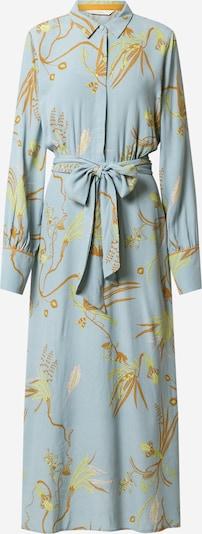 NÜMPH Košulja haljina 'BEATRIX' u svijetloplava / narančasta, Pregled proizvoda