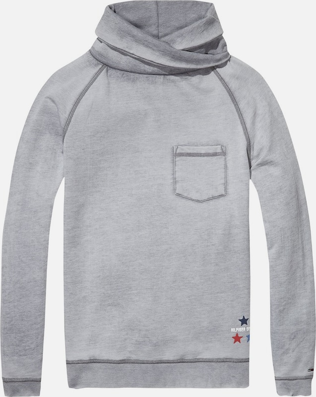 Tommy Jeans Hilfiger Denim Sweatshirt Thdm Burnout Fn Hknit L/s 19